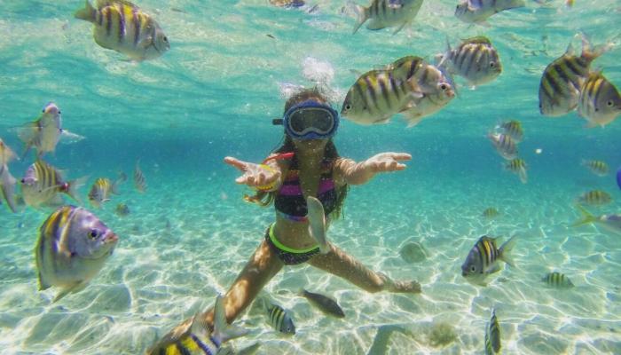 Snorkel at Cayo Arena