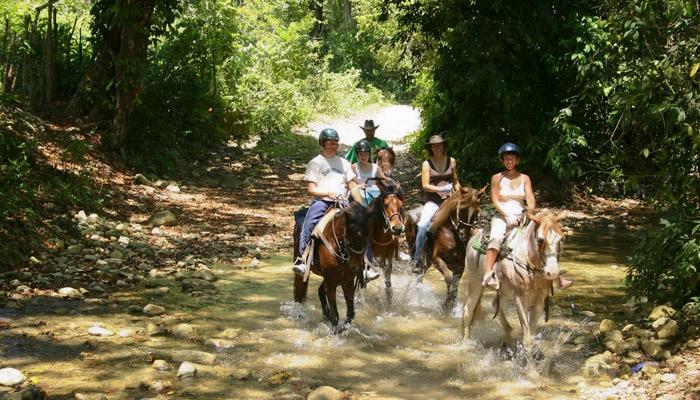 Horseback riding tour in the Dominican Republic